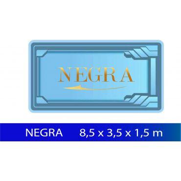 BASEN POLIESTROWY NEGRA 8,50 x 3,70 x 1,55